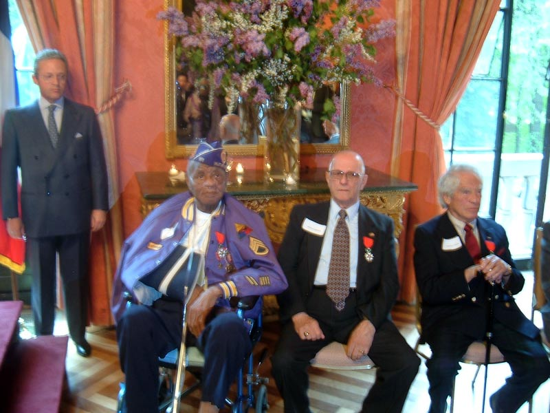Stevens receives French Legion of Honor
