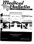 Cover of Medical Bulletin of the U.S. Army Europe